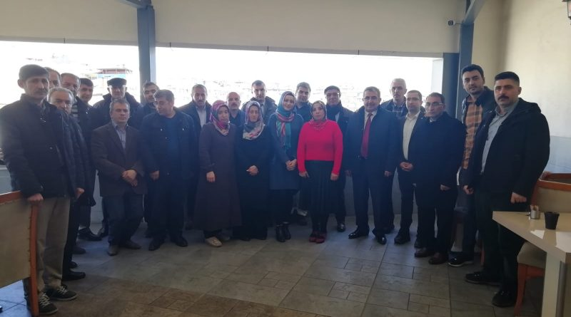Develi Eğitim Çalışanları ve Şehidimiz Ali TAŞÖZ'ün Ailesi Ziyaret Edildi